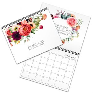 Praise God flower calendar