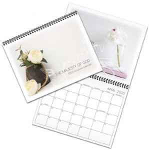 Majesty of God scripture calendar