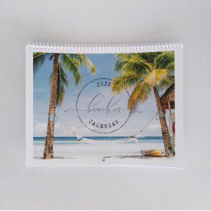 Beaches calendar front