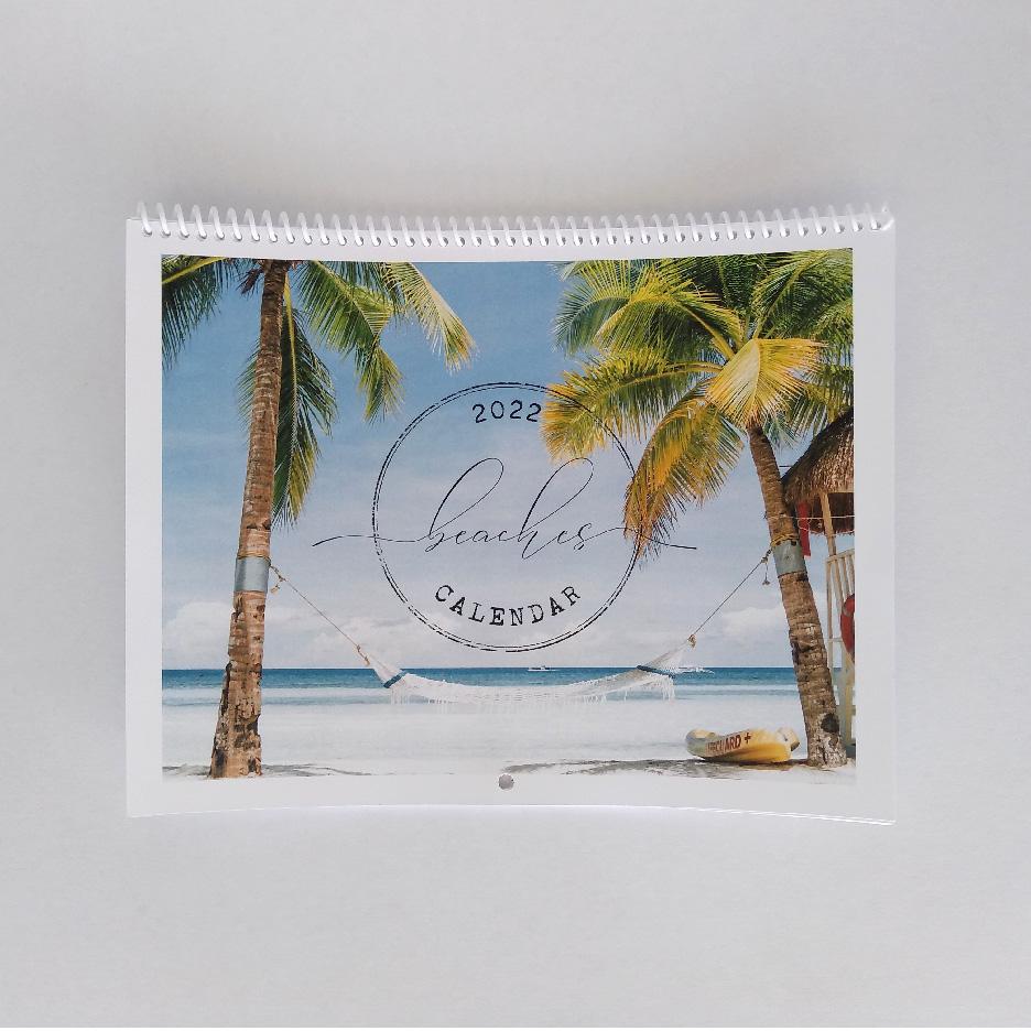 BEACH calendar front-16