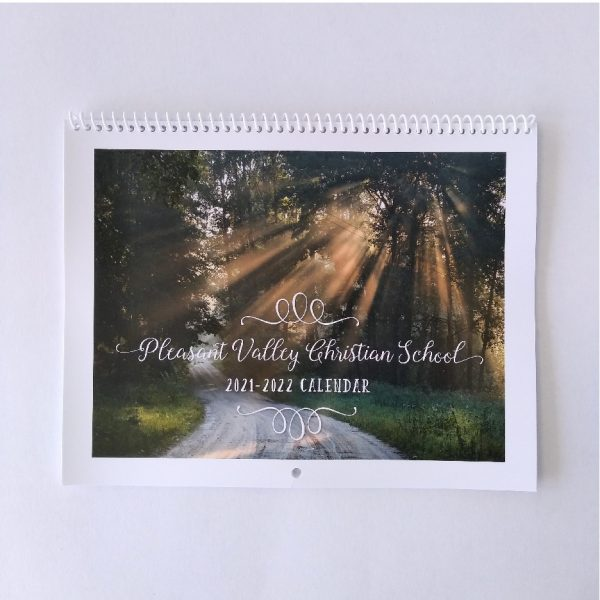 The Scenic Route Birthday Calendar front