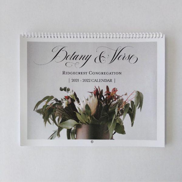 Botany + Verse Birthday Calendar front